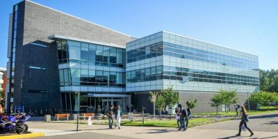 Exterior view of the UTSC Social Science building