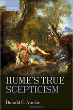 "Cover of ""Hume's True Scepticism"""