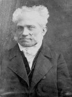Portrait of Arthur Schopenhauer.