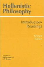 "Cover of ""Hellenistic Philosophy (Second Edition) Introductory Readings"""