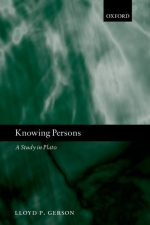 "Cover of ""Knowing Persons A Study in Plato"""