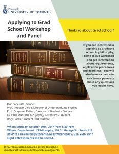 Applying to Grad School Workshop