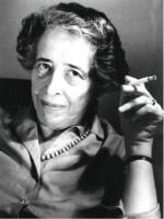Portrait of Hanna Arendt