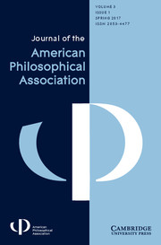 Cover of APA Journal