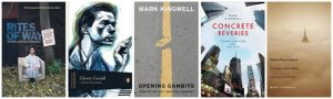 Row of book covers written by Mark Kingwell