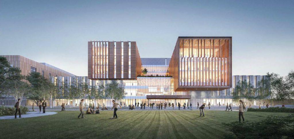 Digital mockup of UTM North Building