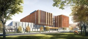 north building digital rendering - exterior