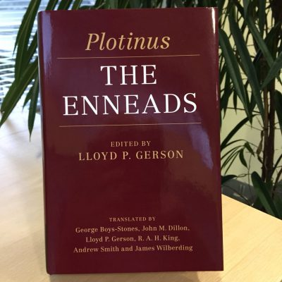 """Cover of Lloyd Gerson's """"The Enneads"""""""