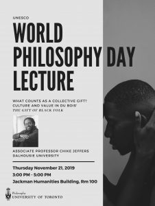 2019 UNESCO World Philosophy Day