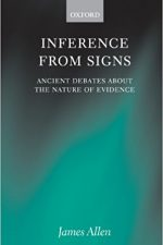 "Cover of ""Inference from Signs Ancient Debates about the Nature of Evidence"""