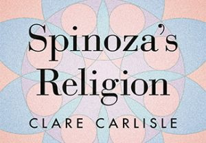 """Detail of book cover for Clare Carlisle, """"Spinoza's Religion"""""""