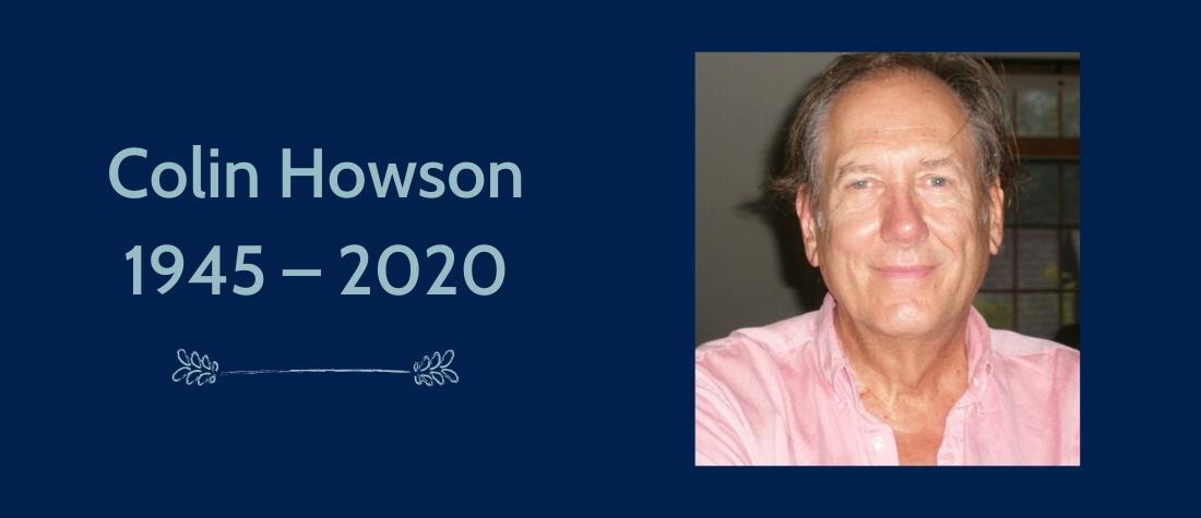 Colin Howson 1945-2020