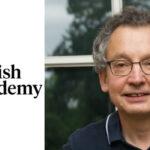 Headshot of David Dyzenhaus with logo of the British Academy