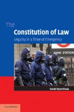 "Cover of ""The Constitution of Law Legality in a Time of Emergency"""