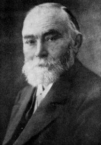Gottlob Frege, b&w photo