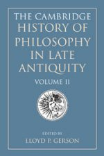 "Cover of ""The Cambridge History of Philosophy in Late Antiquity"""