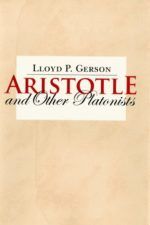 "Cover o f""Aristotle and Other Platonists"""