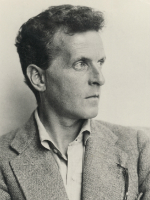 Portrait of Ludwig Wittgenstein.