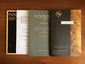 A few Noesis journal covers