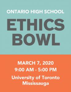 Ethics Bowl logo