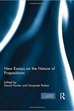 "Cover of ""New Essays on the Nature of Propositions"""
