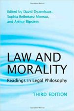 "Cover of ""Law and Morality: Readings in Legal Philosophy"""