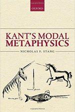 """Cover of """" Kant's Modal Metaphysics"""""""