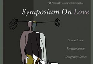Detail of event poster, all information repeated in running text