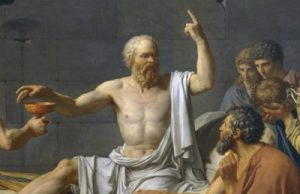 Detail: The Death of Socates (Jacques Louis David)