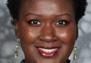 Close-up of Vanessa Wills