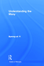 """""""Understanding the Many"""", by Byeong Uk Yi. Book cover is of a plain blue background."""
