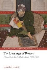 """""""The Lost Age of Reason"""" by Jonardon Ganeri. Book cover consists of an elderly writing in his notebook."""