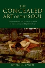 """""""The Concealed Art of the Soul"""" by Jonardon Ganeri. Book cover shows a famous painting."""