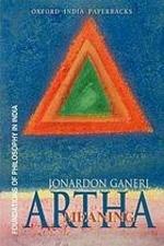 """Artha"", by Jonardon Ganeri. Book cover includes a triangle."