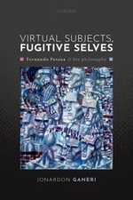 """""""Virtual Subjects, Fugitive Selves"""", by Jonardon Ganeri. Book cover consists of a collection of different facial expressions."""
