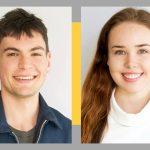 Zachary Rosen + Olivia Smith, JHI Undergrad Fellows 2019-2020