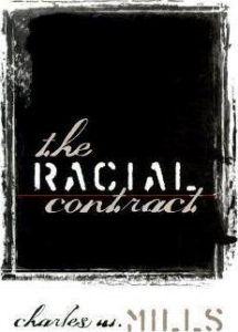 Book cover of The Racial Contract