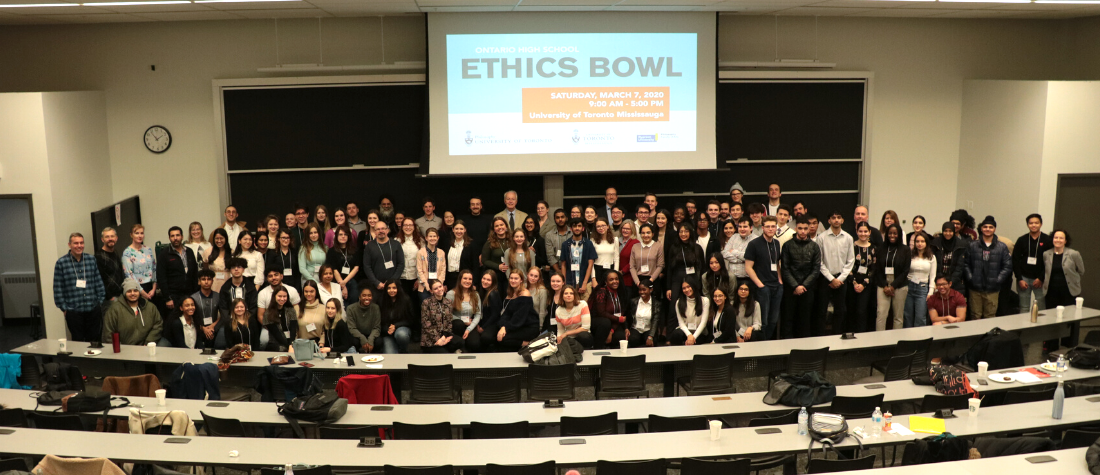 Group picture from Ethics Bowl