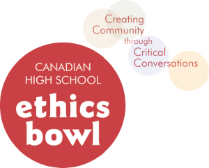 Canadian High School Ethics Bowl logo