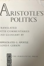 "Cover of ""Aristotle's Politics"""