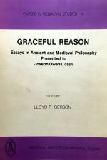 "VCover of ""Graceful reason: Essays in Ancient and Medieval Philosophy"""