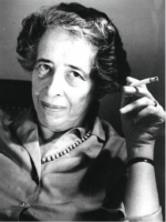 Portrait of Hanna Arendt