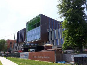 UTM North Building - under construction photo