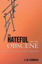 Sumner The Hateful and the Obscene
