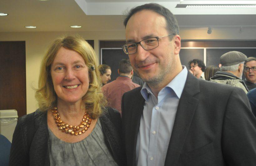 Ellen Roseman and Martin Pickavé